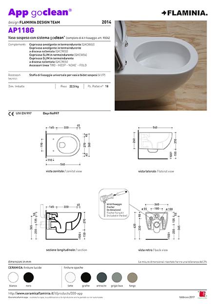 App Go Clean toilet maatvoering
