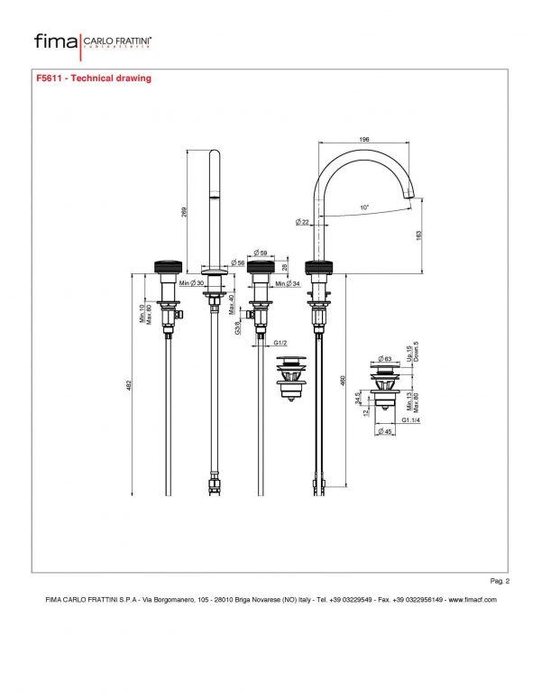 Texture wastafelkraan F5611 maatvoering 1_Pagina_2