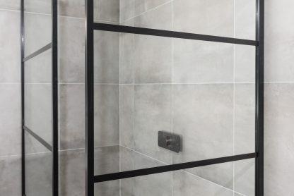 Drench Deco douchepaneel in-mat-zwart 2