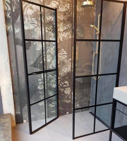 Drench-Frame douchewand met deur