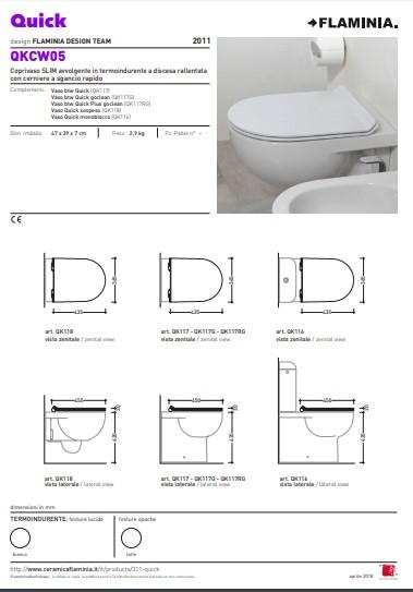 Dunne toiletzitting QKWC05