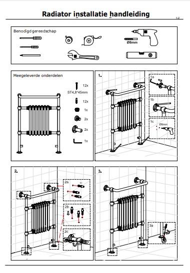 Montage Classic radiator