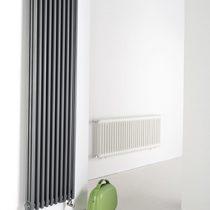 Ledenradiator grijs (links)