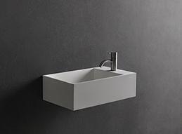 wastafel fontein solid surface