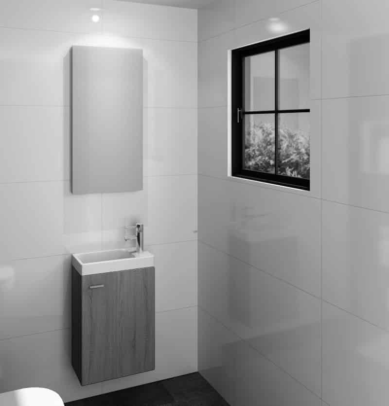 Mirror M-Line Toiletspiegel 700