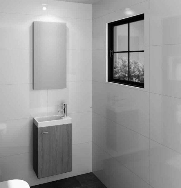 Mirror M-Line Toiletspiegel 400