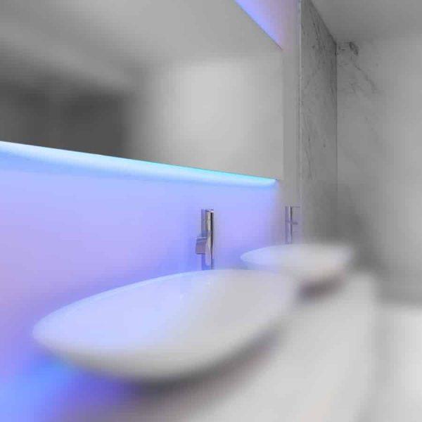 Mirror C-Line RGB LED verlichting - Diverse maten