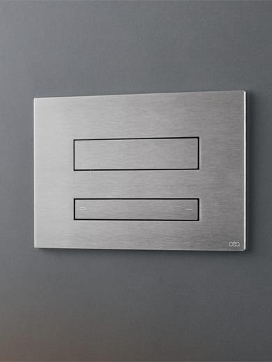 PLA 06 Bedieningsplaat dual flush met wc-reiniger