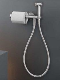 FRE 81 bidet douche en toiletrolhouder