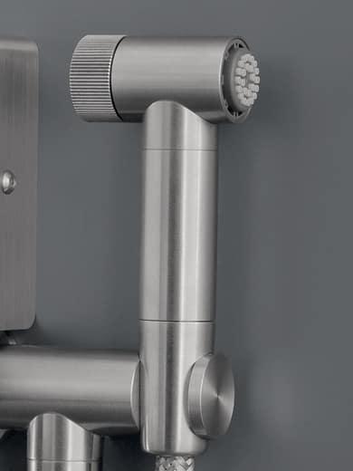 NEU 83 bidet douche en toiletrolhouder