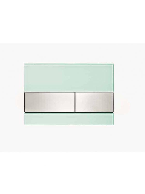 TECEsquare Glazen bedieningsplaat dual flush