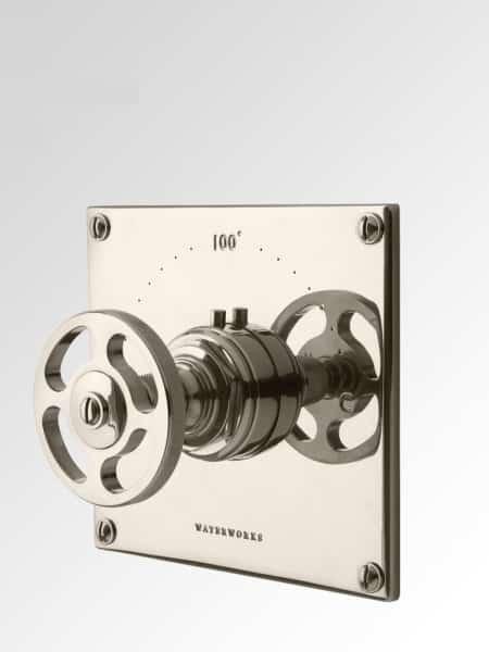 R.W. Atlas-Roue Trim voor thermostaat - Eurotherm, compleet